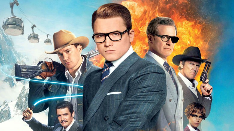 """Image from the movie """"Kingsman: The Golden Circle"""""""