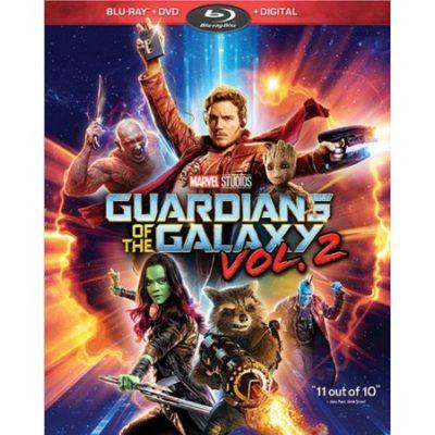 guardians of the galaxy vol 2 dvd