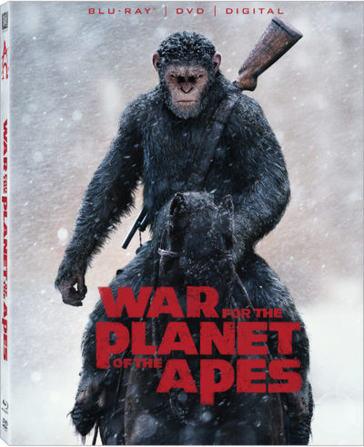 war for the planet of the apes dvd