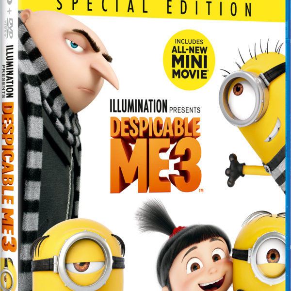despicable me 3 dvd image